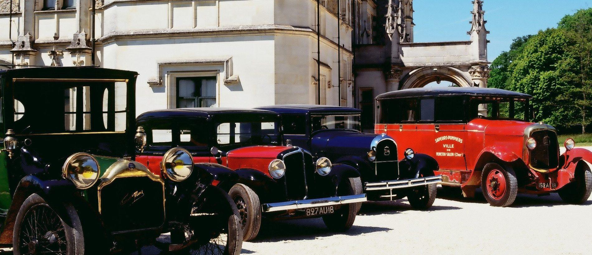 Mus e de l automobile ch teau et domaine de menetou salon for Chateau de menetou salon