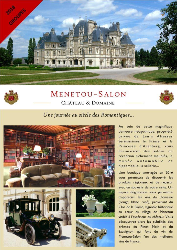 Groupes 2018 ch teau et domaine de menetou salon - Menetou salon chateau ...